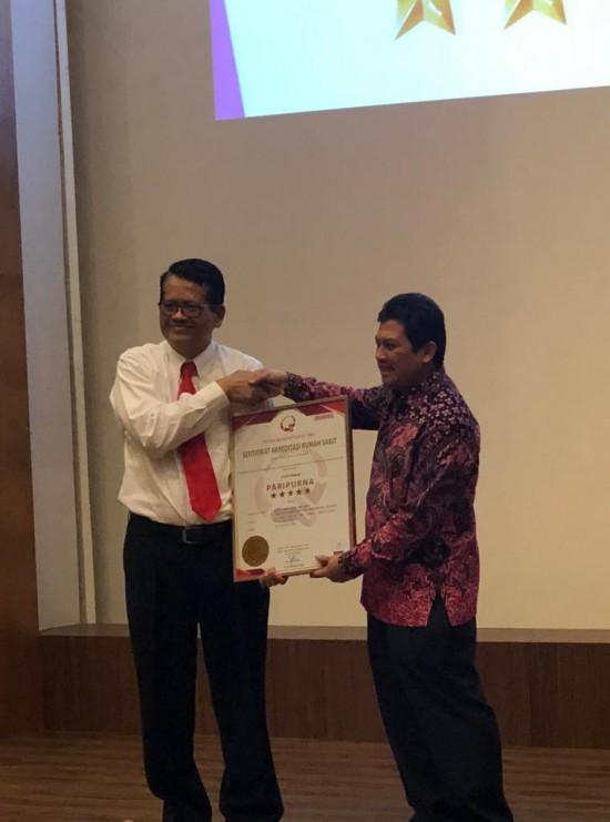 Rumah sakit gigi dan mulut Fakultas Kedokteran Gigi (RSGM FKG) Universitas Trisakti mendapat Akreditasi Paripurna, Medcom.id/Intan Yunelia.