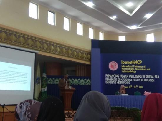 International Conference on Mental Health, Neuroscience and Cyberpsychology (ICOMETH-NCP 2018), Humas Uhamka.
