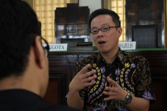 Dosen Fakultas Hukum Untag, Fajar Sugianto, dokumentasi Humas Untag.