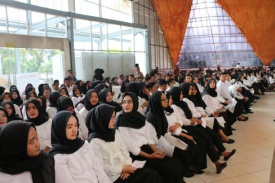 Para peserta seleksi CPNS di Telkom University.  Foto: Medcom.id/Roni Kurniawan