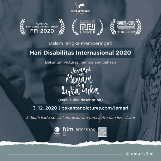 Flyer film Jemari buatan UMN. Foto: Dok UMN.