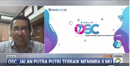 Wakil Rektor Intitut Teknologi Nasional (Itenas) Dian Rusirawan mengapresiasi program beasiswa OSC Medcom.id