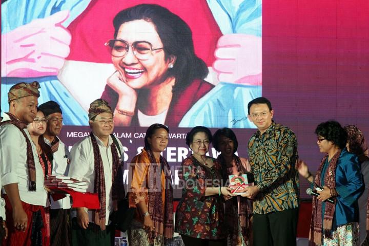 Peluncuran Buku 'Megawati dalam Catatan Wartawan: Menangis dan