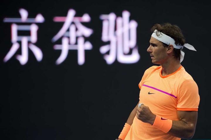 Nadal Melaju ke Perempat Final Tiongkok Terbuka