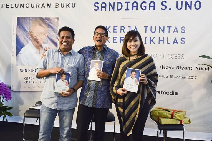 Sandiaga Uno Luncurkan Buku 'Kerja Tuntas, Kerja Ikhlas'