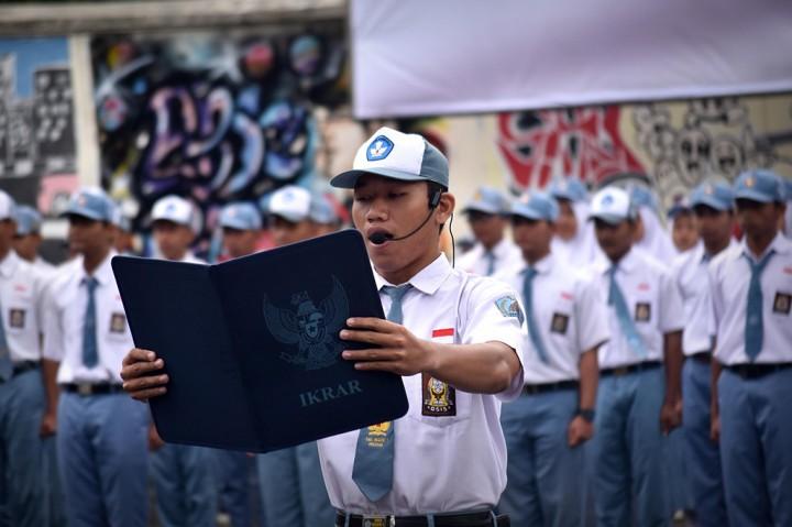 Pelajar di Jateng Deklarasi Pelopor Tertib Hukum