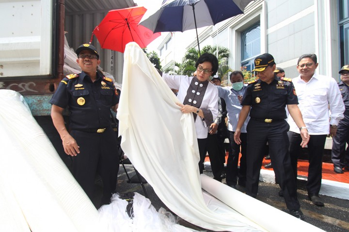 Bea Cukai Bongkar 3 Kasus Penyelundupan Tekstil
