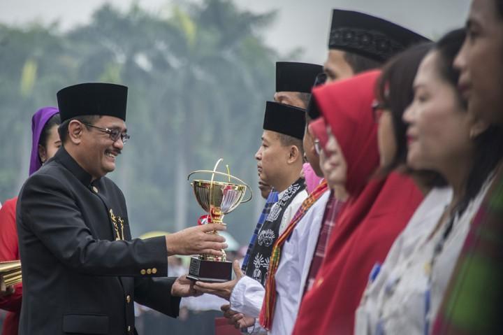 Djarot Pimpin Upacara Peringatan HUT DKI Jakarta