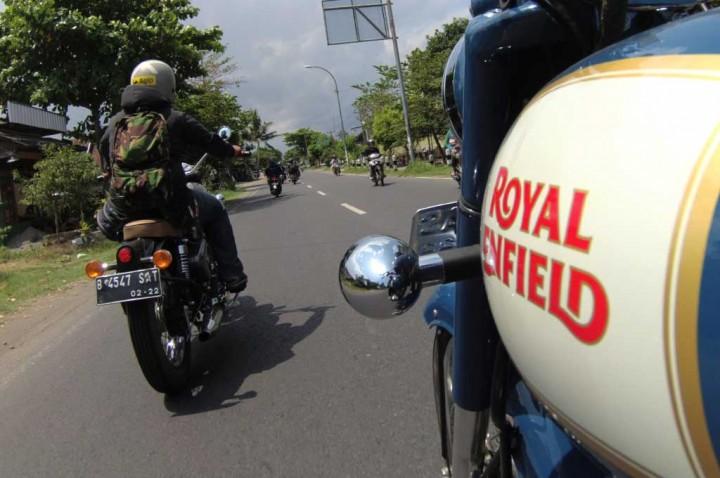 Jajal Royal Enfield ke Gunung Kidul