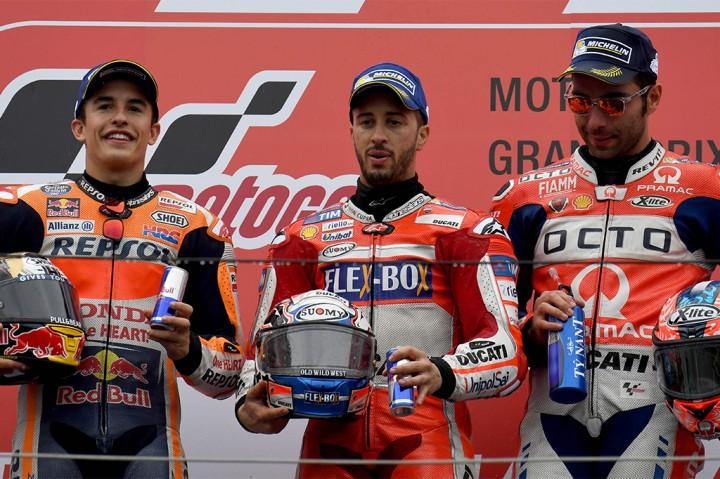 Dovizioso Juarai MotoGP Jepang