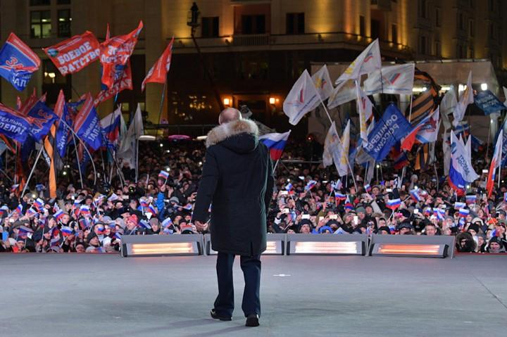 Putin Kembali Pimpin Rusia Hingga 2024