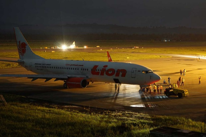 Pesawat Lion yang Tergelincir Berhasil Dievakuasi