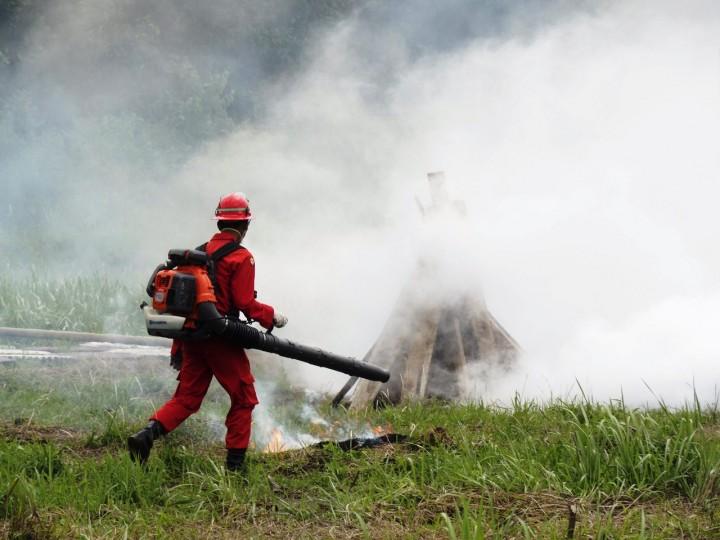 Antisipasi Kebakaran Lahan saat Asian Games 2018