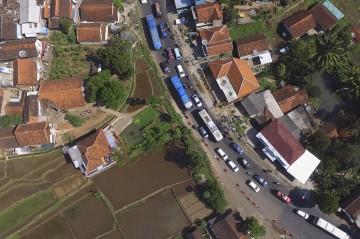 Polisi Berlakukan Sistem Satu Arah di Jalur Nagreg