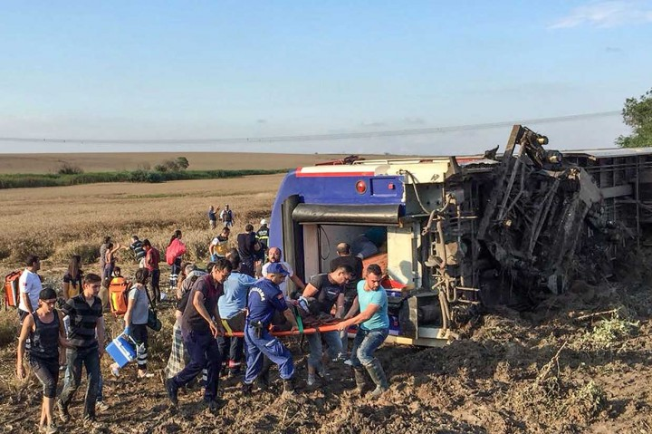 Kecelakaan KA di Turki, 24 Tewas