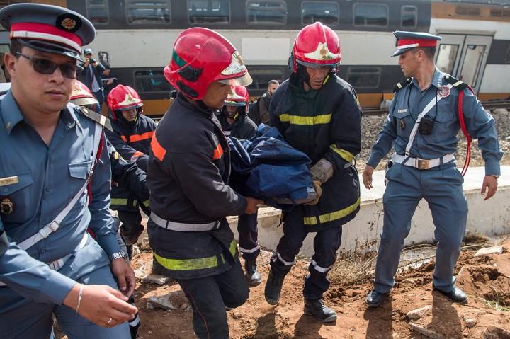 Kecelakaan Kereta Api di Maroko Tewaskan 6 Orang