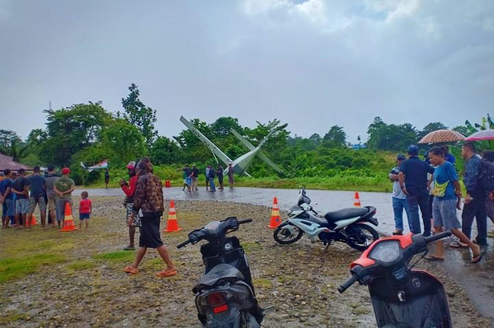 Pesawat Grand Caravan Milik Alfa Trans Tergelincir di Papua