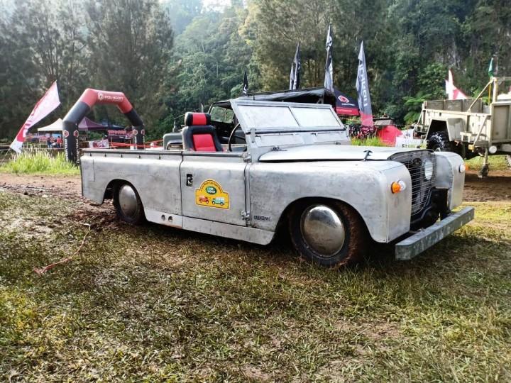 Serunya 'Lebaran' Land Rover di ILRU 4