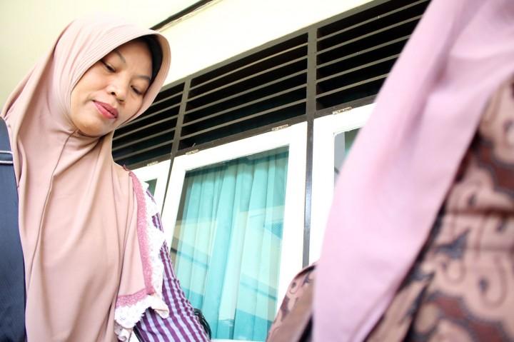 Baiq Nuril Jalani Sidang PK Perdana