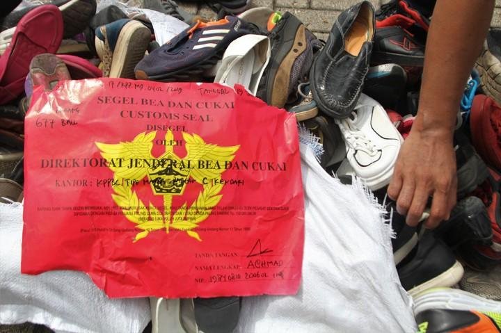 Bea Cukai Gagalkan Penyelundupan Pakaian Bekas Senilai Rp1,5 M