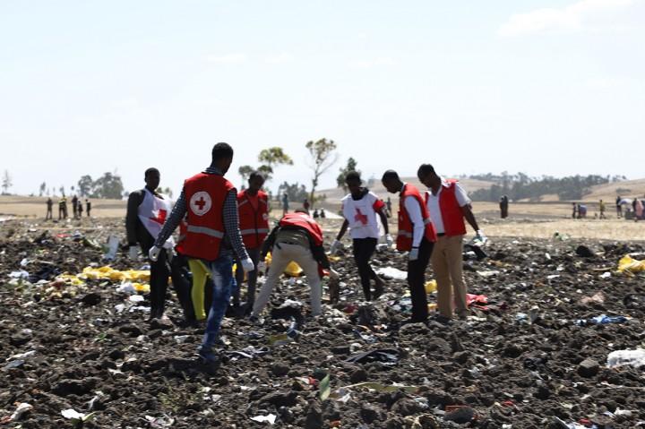 Pesawat Ethiopian Airlines Jatuh, 157 Penumpang Tewas