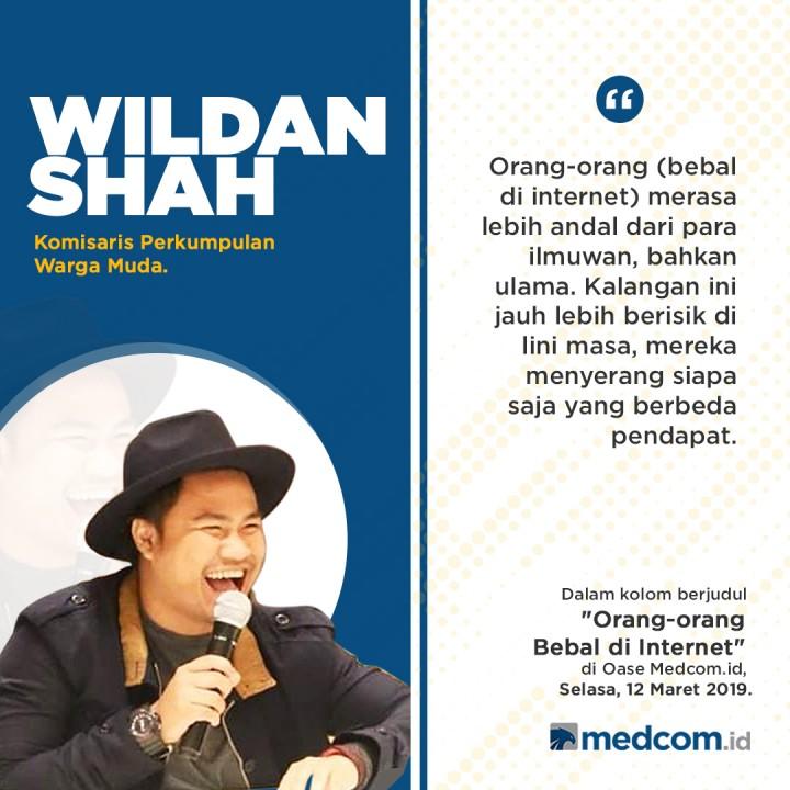 Wildanshah: Orang-Orang Bebal di Internet