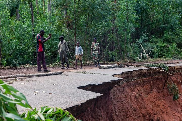Zimbabwe Luluh Lantak Pascaditerjang Badai Idai