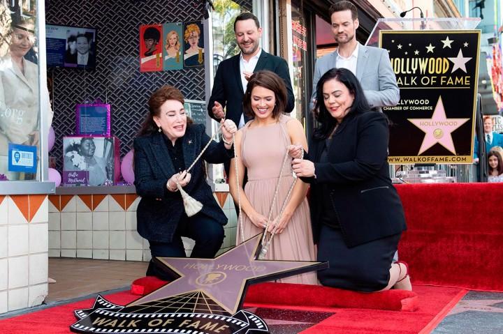 Mandy Moore Peroleh Bintang Hollywood Walk of Fame