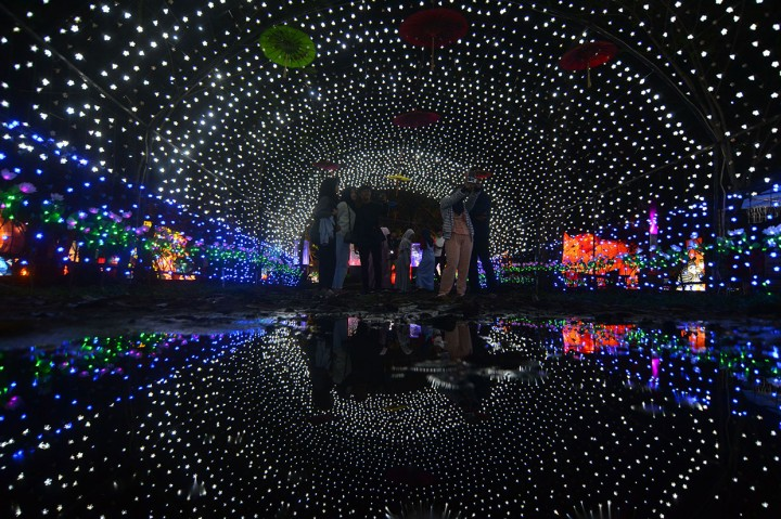 Kunjungi Destinasi Wisata Pesona Taman Lampion Tasikmalaya