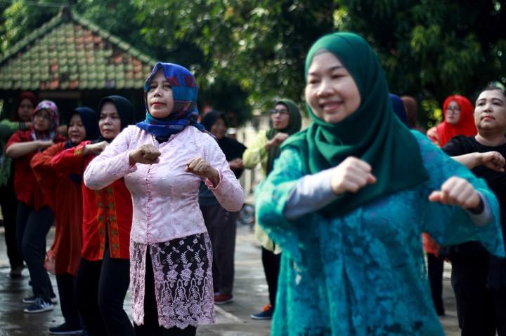 Keseruan Peringatan Hari Kartini di Sejumlah Daerah