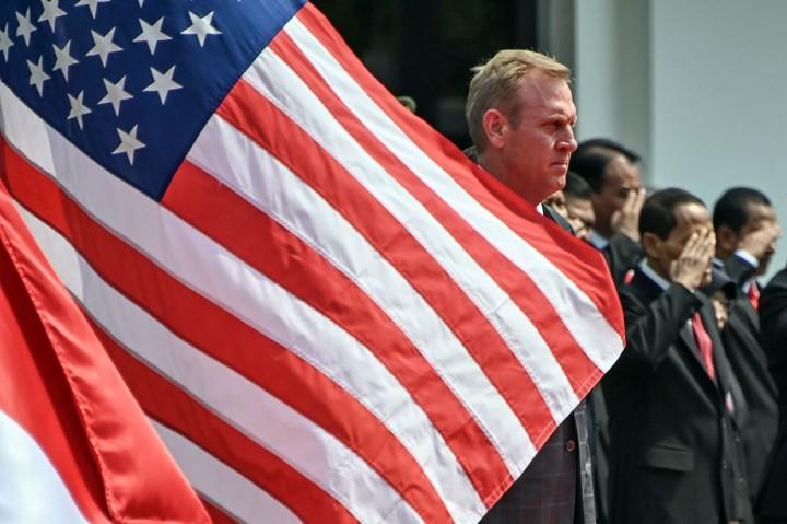 Ryamizard Ryacudu Terima Pejabat Pertahanan AS