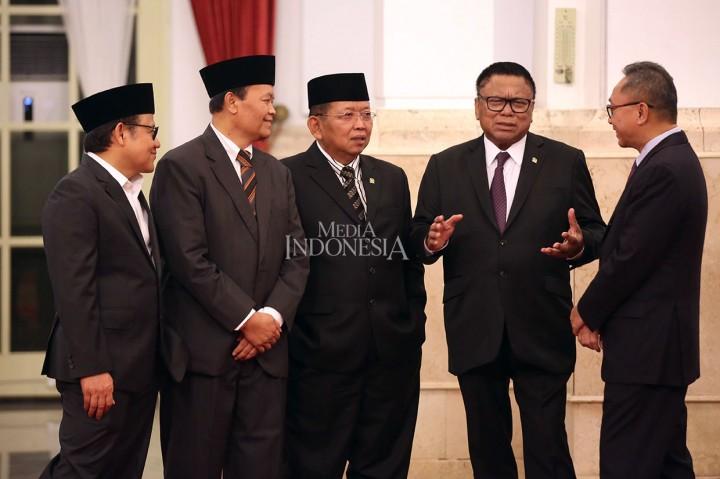 Jokowi Lantik Gubernur-Wagub Lampung