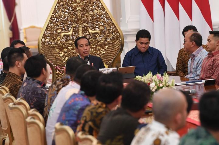 Jokowi Minta Masukan dari Kadin dan Hipmi
