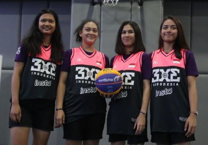 Timnas Basket 3x3 Putri Menuju SEA Games dan Olimpiade