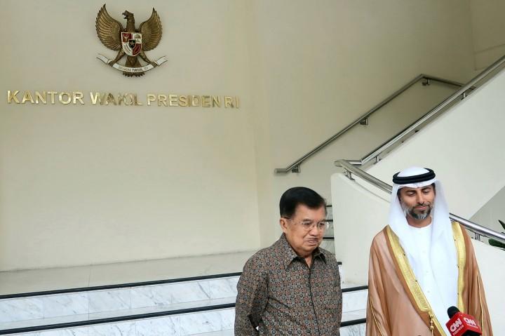 Wapres Terima Kunjungan Menteri Energi UEA