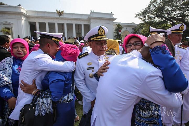 Jokowi Lantik Perwira TNI dan Polri 2019