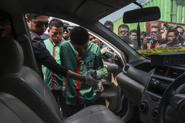 Polres Jakbar Gagalkan Penyelundupan 30 Kg Sabu dari Malaysia