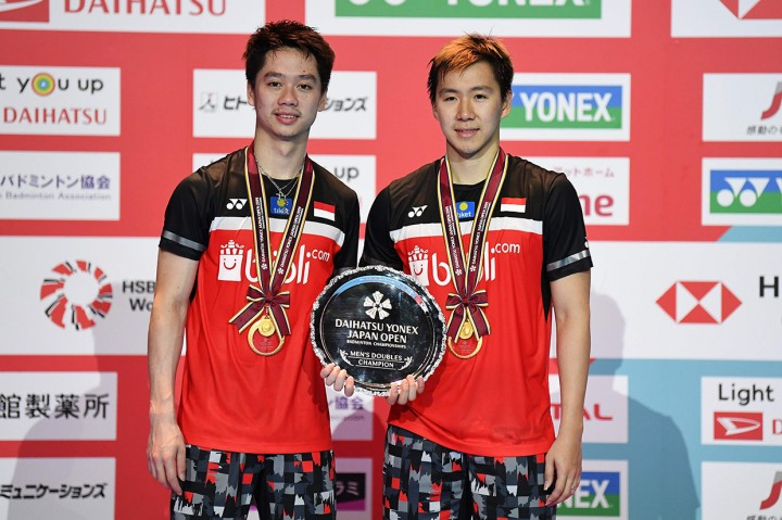 Kevin/Marcus Juara Japan Open 2019