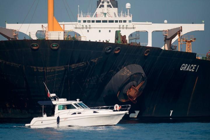 Gibraltar Putuskan Bebaskan Tanker Iran