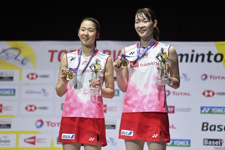 Matsumoto/Nagahara Juara Dunia Ganda Putri 2019