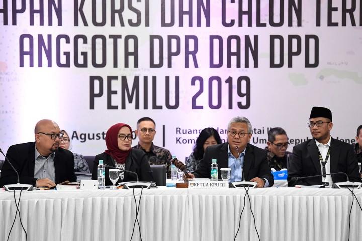 KPU: Sembilan Parpol Lolos ke Parlemen