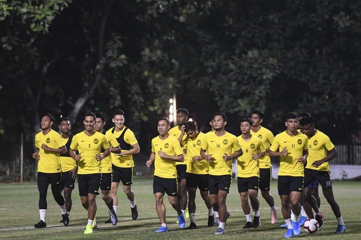 Timnas Indonesia Bersiap Lawan Malaysia