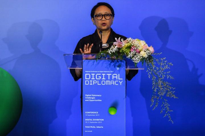 Menlu Buka Konferensi Regional Diplomasi Digital
