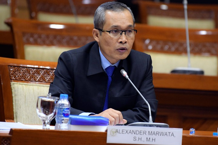 Alexander Marwata Jalani Uji Kelayakan Capim KPK