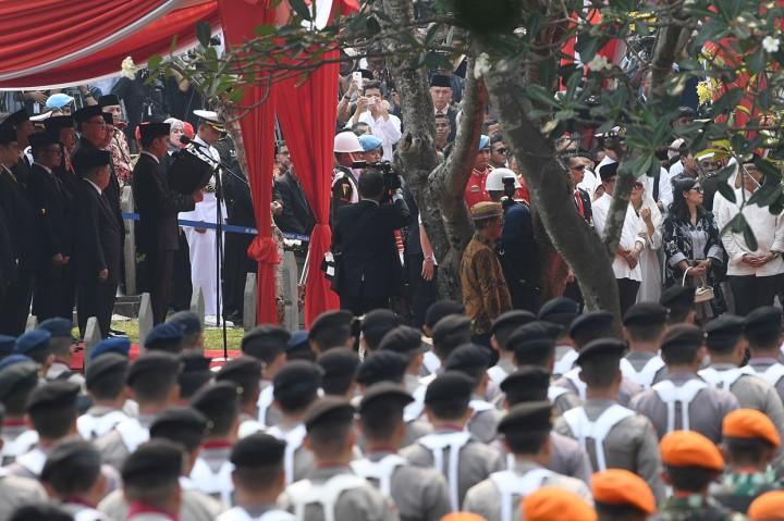 Sejumlah Tokoh Hadiri Pemakaman BJ Habibie