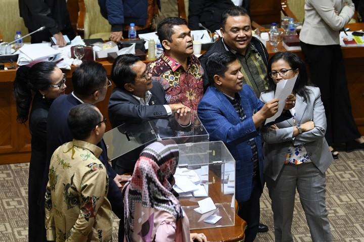 Firli Bahuri Terpilih Jadi Ketua KPK
