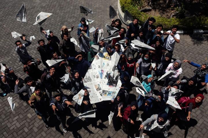 Aksi Mengenang BJ Habibie