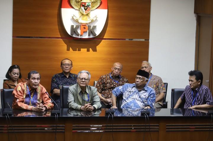 Eks Pimpinan KPK Minta DPR Perkuat Pemberantasan Korupsi