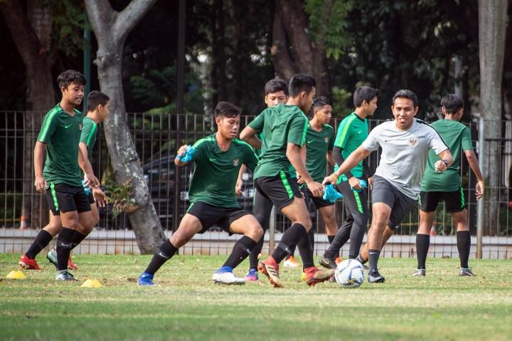 Usai Menang Telak, Timnas U-16 Langsung Gelar Latihan
