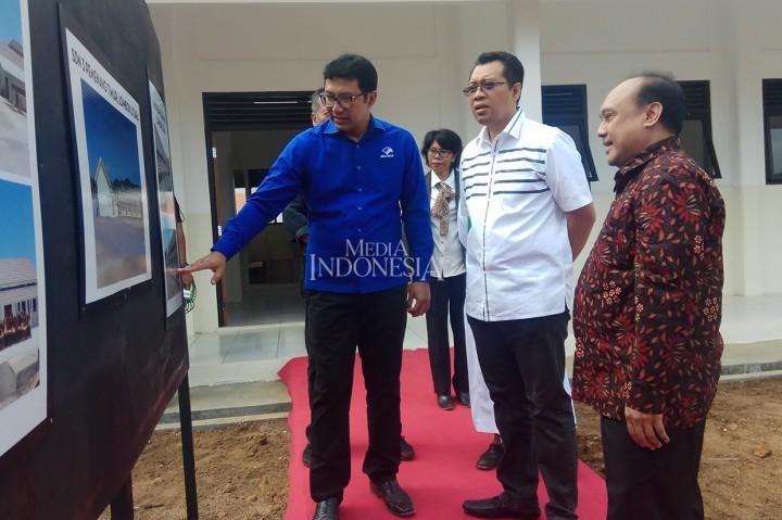 Media Group Resmikan 6 Sekolah di Lombok